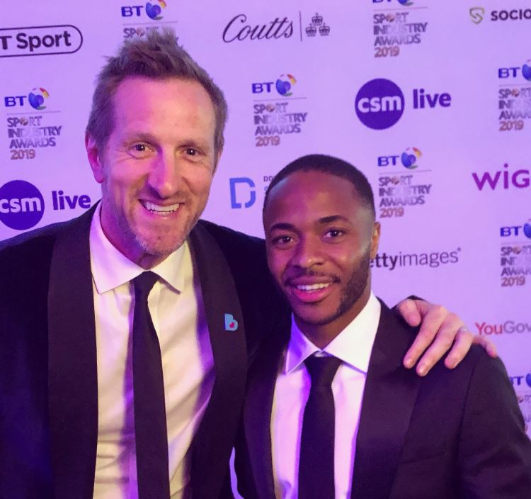 Will Greenwood and Raheem Sterling